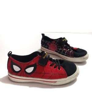 Other - ⬇spider man sneakers red and black shoes